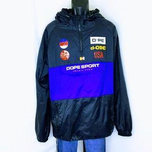 Dope Sport Bougie Crew Collection 1 Nylon Anorak